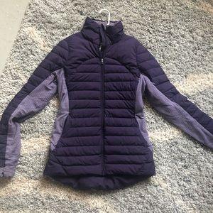 Lululemon plum winter jacket